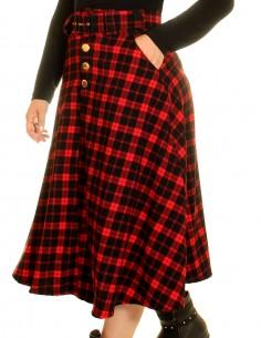 Vestido de bolinha festa fantasia anos 60 retrô para comprar PIN24