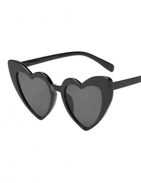 Óculos de Coração Retrô Vintage Anos 60 07