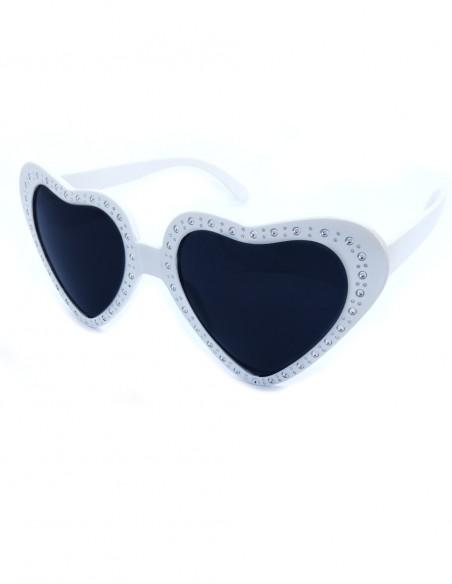 Óculos de Coração Retrô Vintage Anos 60 30