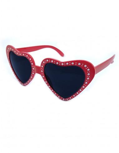 Óculos de Coração Retrô Vintage Anos 60 20