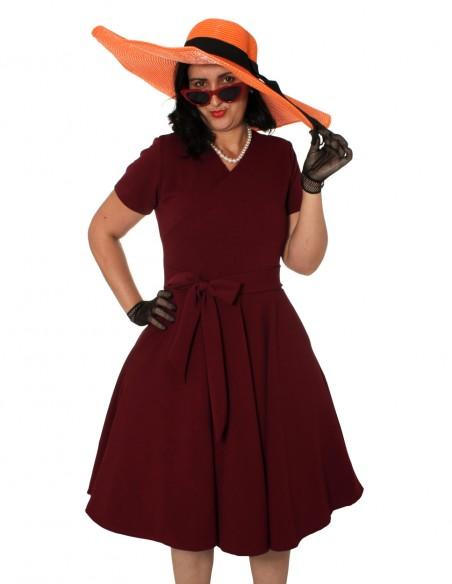 Vestido De Bolinha Anos 60 Festa Vintage Retrô Bola 50 Pin21 15