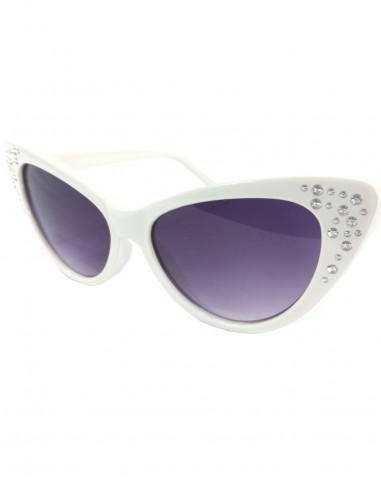 Óculos de Sol Feminino Gatinha Retro Anos 60 Gatinho Vintage 22.1