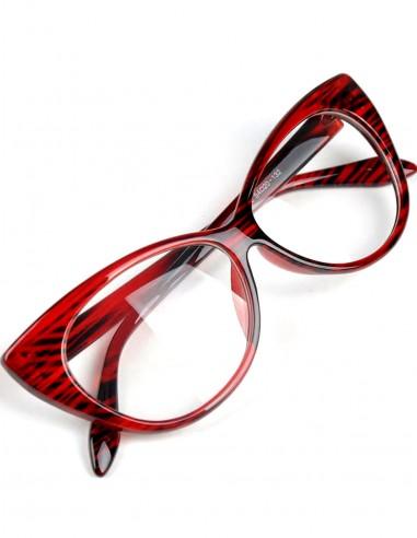 Óculos Feminino Gatinha Retro Anos 60 e 50 Vintage C Lente 43
