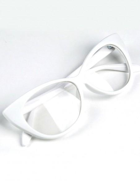 Óculos Feminino Gatinha Retro Anos 60 e 50 Vintage C Lente 32