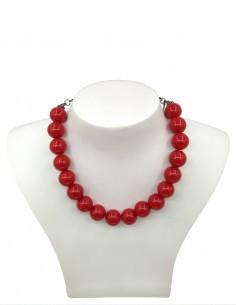 Vestido De Bolinha Vermelho P30