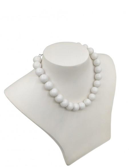 Vestido De Bolinha Branco P50