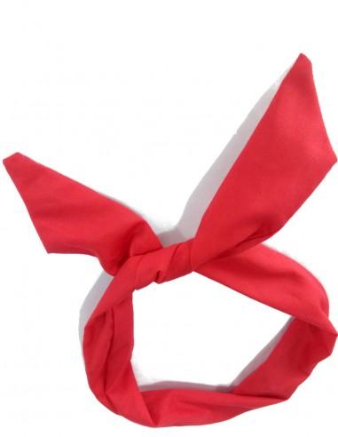 Tiara Com Arame Vermelha