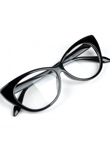 Óculos Feminino Gatinha Retro Anos 60 e 50 Vintage C Lente 10