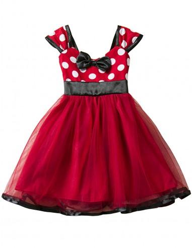 Vestido De Bolinha Infantil Anos 60 Festa Vintage Retrô PINi32